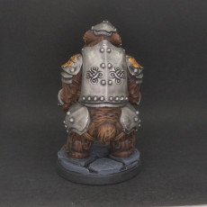 Picture of print of Armored Warbear - Professionally pre-supported!