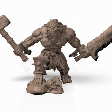Bugbear Chieftain - Professionally pre-supported!