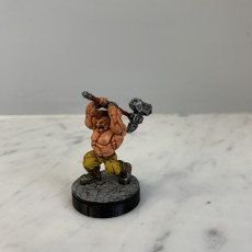 Picture of print of Dwarf Slayer - Professionally pre-supported!