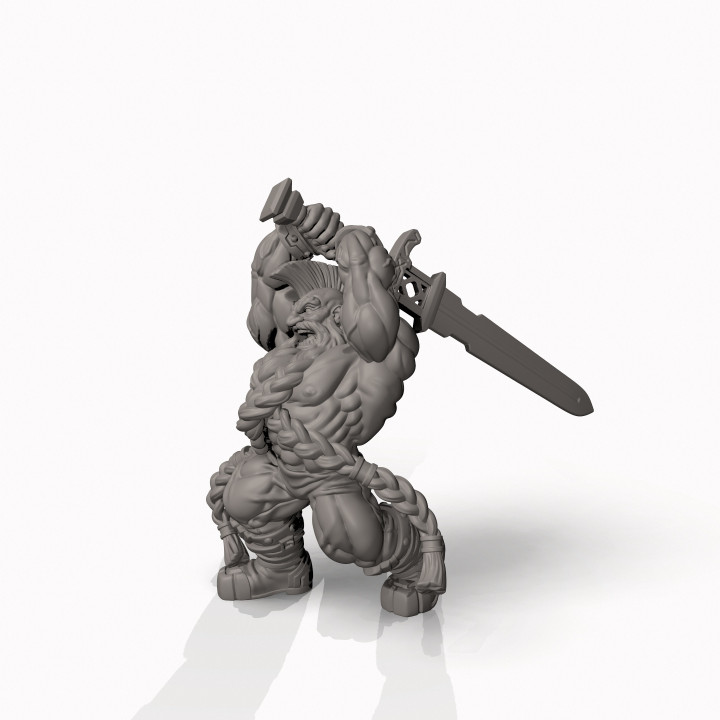 Dwarf Slayer - Professionally pre-supported!