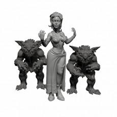 Female Elf Warlock -Professionally pre-supported!
