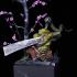 Hikkiyori Swordmaster -Toad Samurai  - Professionally pre-supported! image