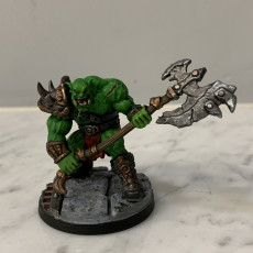 Picture of print of Orc Berserker- Professionally pre-supported!