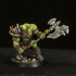 Orc Berserker- Professionally pre-supported! image