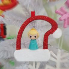 Christmas tree ornament_ ooshies decorations_Santa hat
