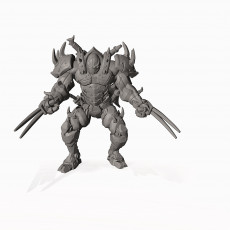 Warforged Fighter - Professionally pre-supported!