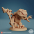 Turtle Druid 24mm PRE-SUPPORTED image