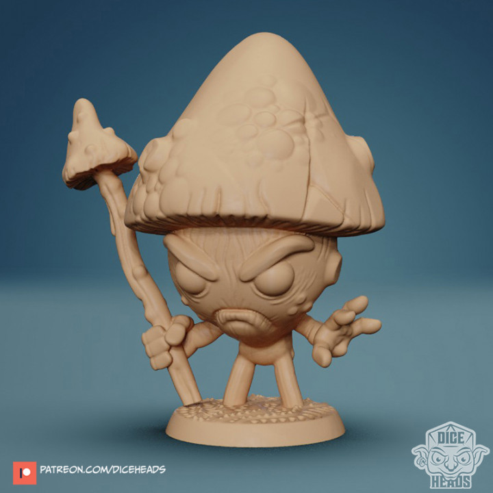Baby Mushroom 24mm PRE-SUPPORTED's Cover