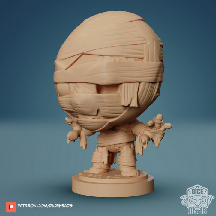 Chibi Mummy 24mm PRE-SUPPORTED's Cover