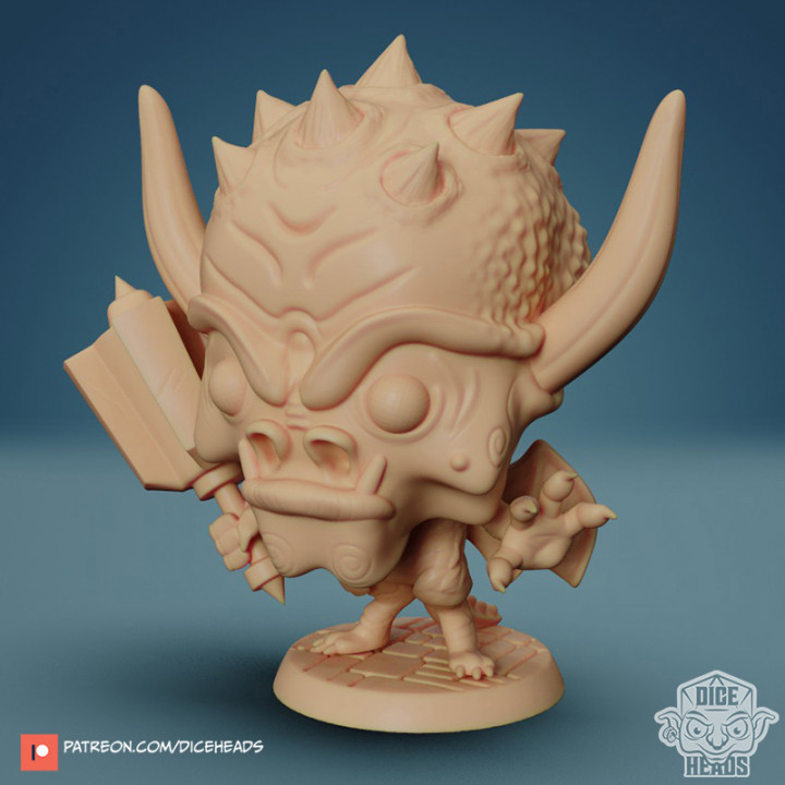 Chibi Pit Fiend 24mm PRE-SUPPORTED's Cover
