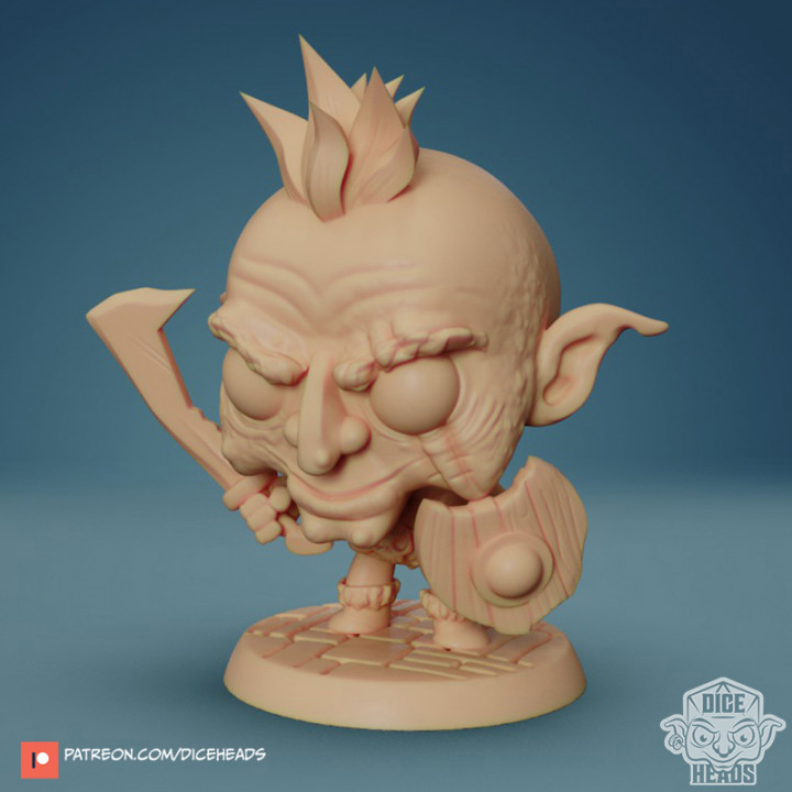 Chibi Goblin 24mm PRE-SUPPORTED's Cover