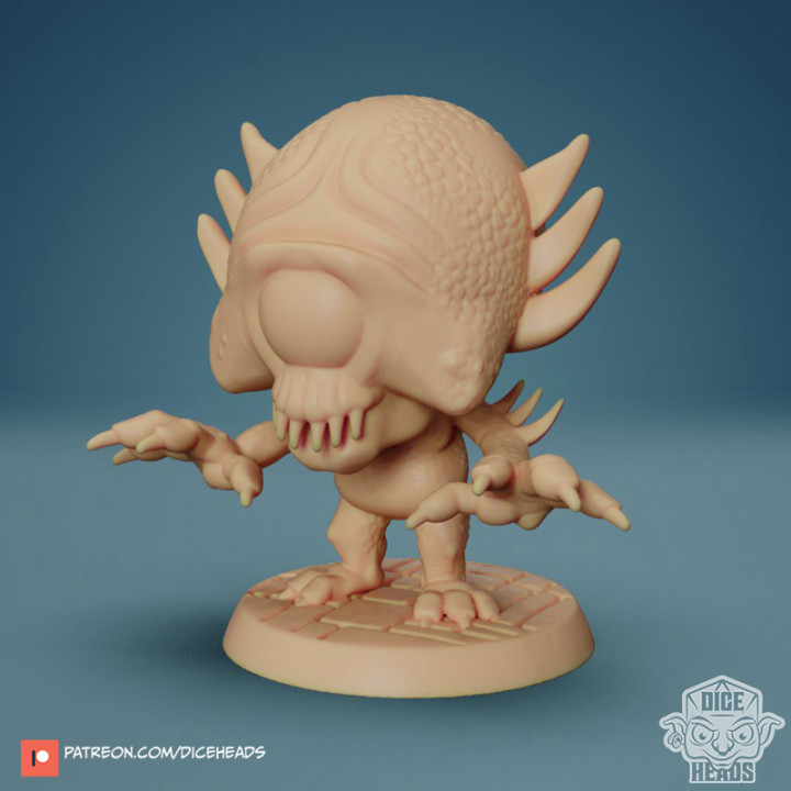 Chibi Psycho Monster 24mm FREE PRE-SUPPORTED's Cover