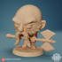 Chibi Dwarf- Mikkelson 24mm PRE-SUPPORTED image