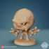 Chibi Clay Golem 24mm PRE-SUPPORTED image
