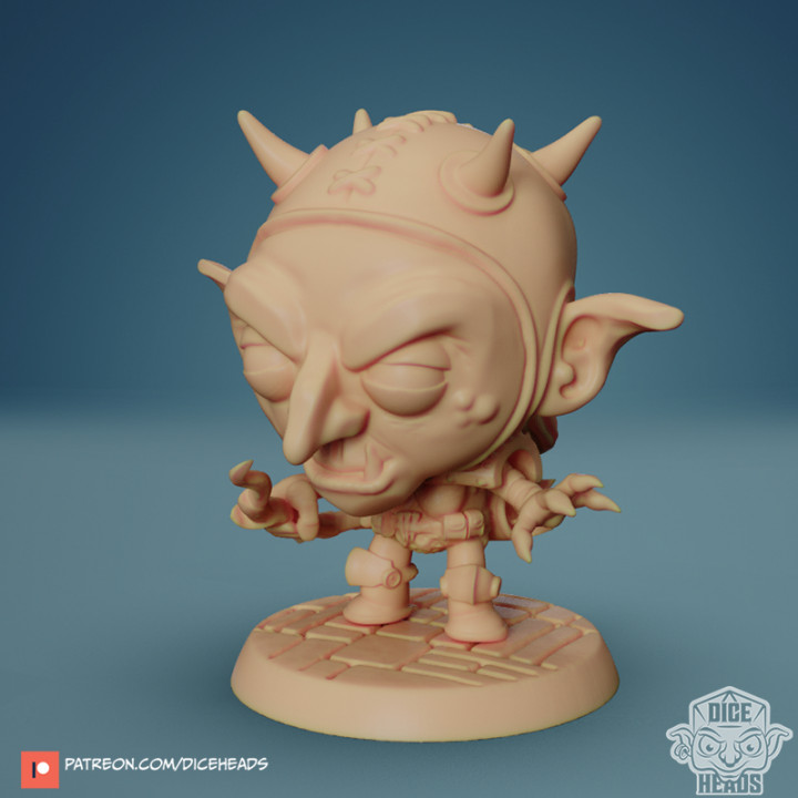 Chibi Goblin Archer 24mm PRE-SUPPORTED's Cover