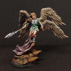 Picture of print of Harpy Queen - Professionally pre-supported!