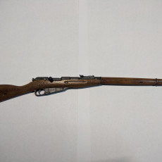 Picture of print of Mosin Nagant