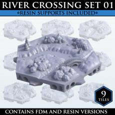 Hexton Hills River Crossing Set 01