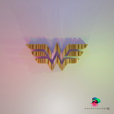 3D Word Shape - Themyscira Princess