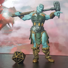 Picture of print of Female Barbarian