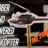 3D printed Rubber Band Powered Helicopter image