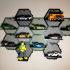 Wexagon - Hexagon Shelves (remix for displaying Matchbox cars) image