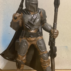Picture of print of The Mandalorian