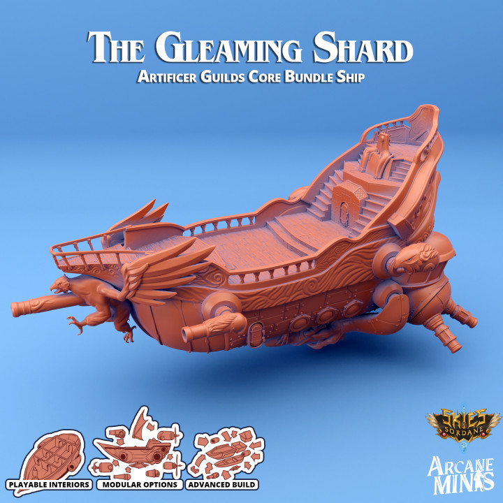 Airship - The Gleaming Shard's Cover