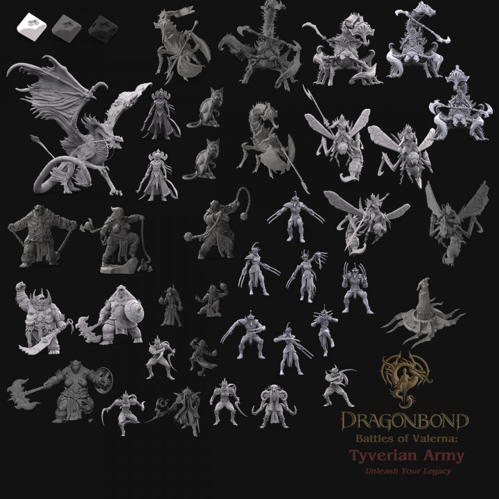 Tyverian Army from Dragonbond: Battles of Valerna's Cover
