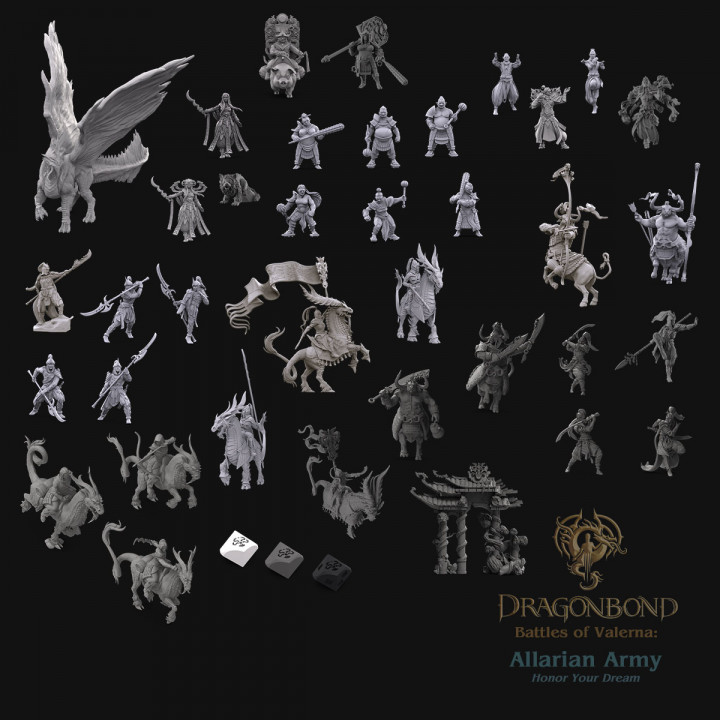 Allarian Army from Dragonbond: Battles of Valerna's Cover