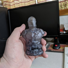 Picture of print of The Mandalorian from Star Wars Support Free Remix