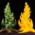 "Tabletop plant: ""Orkish Xmas-Tree"" (Alien Vegetation 29) image"