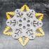 Mandalorian Snowflake Decoration image