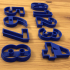 numbers cookie cutters image