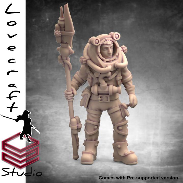 Nautilus Diver 1 - Lovecraft Nautilus Crew Collection