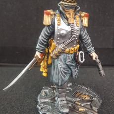 Picture of print of Commissar of the Imperial Force