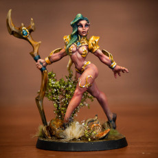 Picture of print of Kilia the Ballet Queen - Sylvan Knights Beauty (Fantasy Pinup)