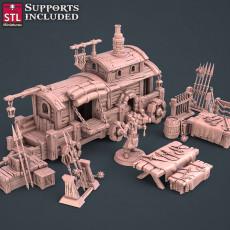 Blacksmith Weapon Store Set