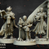 Warriors of the Lady Command Group - Highlands Miniatures image