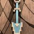 Shovel Knight Shovel Pixel Design image