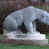 Statue of a bear image