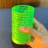 Spiral Pi Pencil holder image