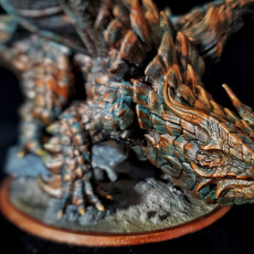 Picture of print of Copper Dragon