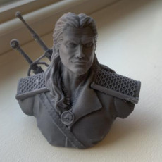 Picture of print of Geralt of Rivia / the Witcher bust / Henry Cavill 这个打印已上传 Shannon Gieseke