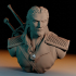 Geralt of Rivia / the Witcher bust / Henry Cavill image