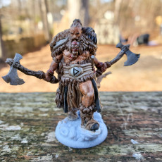 Picture of print of Viking berserker This print has been uploaded by David