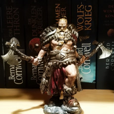 Picture of print of Viking berserker
