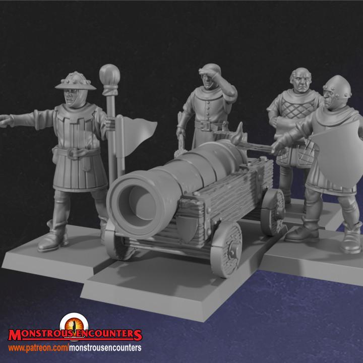 Breton War Machines Set 1
