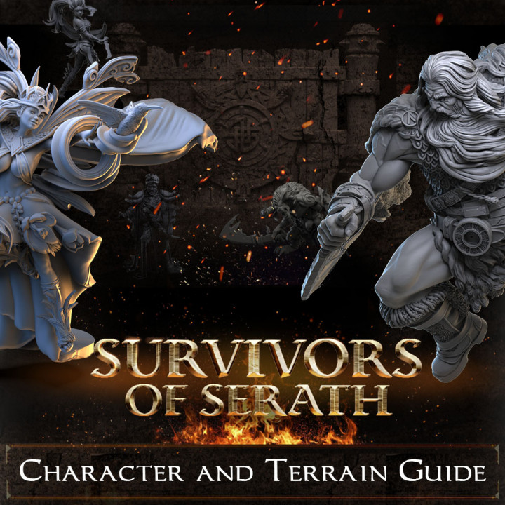Character and Terrain Guide's Cover
