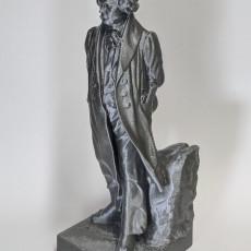 Picture of print of Ludwig van Beethoven